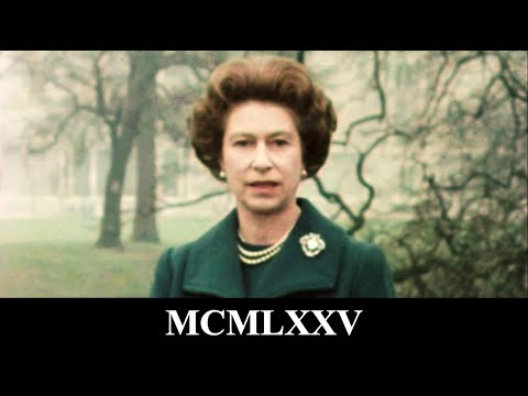 The Queen's Christmas Message 1975
