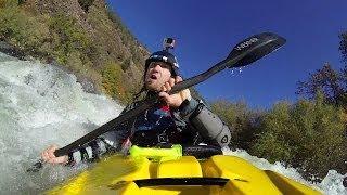 gopro kayaking pit falls