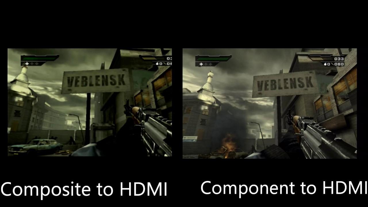 Av Composite Hdmi Vs Component Hdmi Using The Ps2