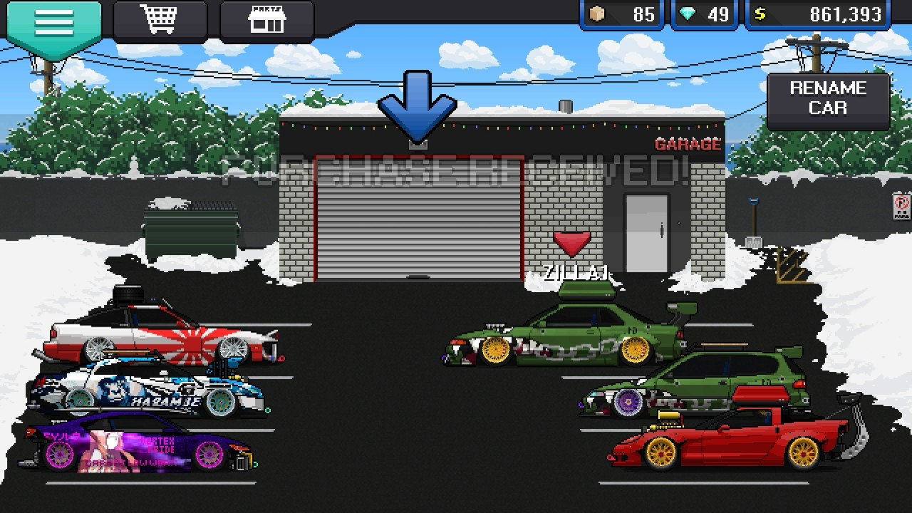 Pixel Car Racer Hack Mod Apk No Root Needed New Android Youtube