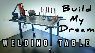 Welding Table Build with Clamps, Fixture and some other Ideas
