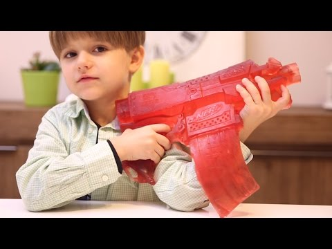 Gummy Nerf Gun - Don't Mess with Daddy