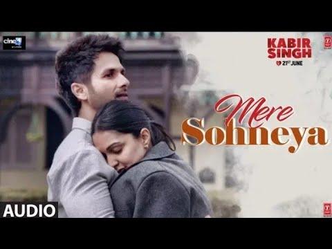 FULL AUDIO | Mere Sohneya   Kabir Singh | Shahid K, Kiara A, Sandeep V | Sachet   Parampara,Irshad K