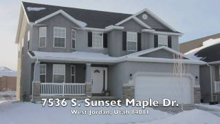 7536 Sunset Maple, West Jordan, Utah