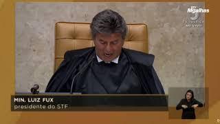 Veja a íntegra do discurso de Luiz Fux na abertura do Ano Judiciário.