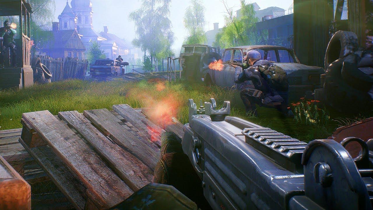 Fear The Wolves Trailer (Battle Royale Set In Chernobyl) E3 2018