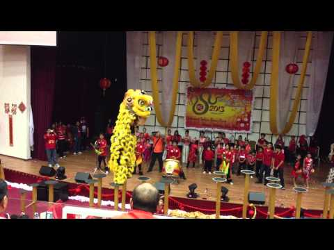 Labuan International School Lion Dance Performance @ LIS Labuan