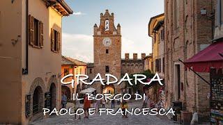 CASTELLO DI GRADARA - Ambientazione di Paolo e Francesca, V Canto Divina Commedia (Dante Alighieri)