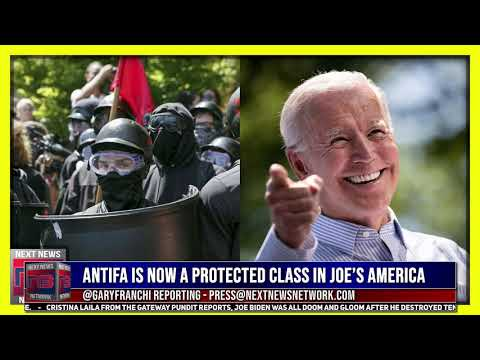 WOW! Biden's Press Sec Makes it CLEAR Antifa is now a Protected Class in Joe's America