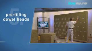 installing external thermal insulation systems (ETICS)