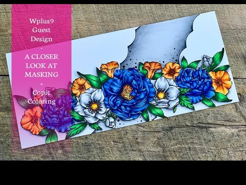 Wplus9 A Closer Look At Masking With Modern Florals