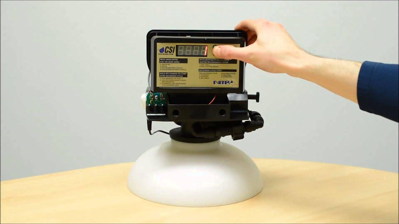 Csi Nitro Iron Sulfur Filter Setup And Programming Youtube