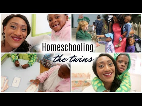 HOMESCHOOLING THE TWINS & A TRIP TO THE FARM | VLOG | AD