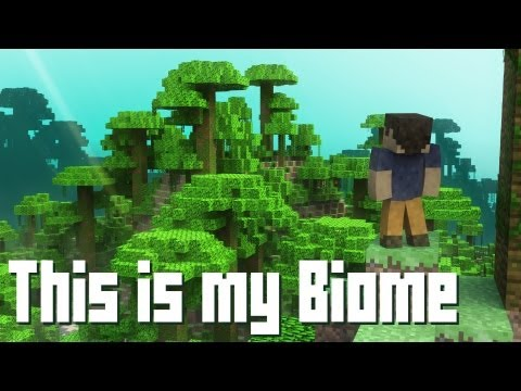 """""""This is my Biome"""" - A Minecraft Parody of Payphone (Music Video)"""
