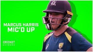 Mic'd up with Australia opener Marcus Harris