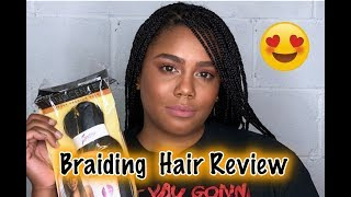 THAT REAL REVIEW:Best Hair for Box Braids! (OH YES SPETRA)| JASMINLEE515