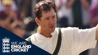 The 2005 Ashes: Ricky Ponting's Game-Saving 156 at Old Trafford