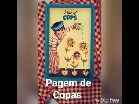 Pajem de Copas (Snapchat: TAROTEANDO)