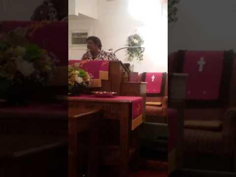 Dr.Elma C.Harris @Life Community Pentecostal  Holiness Church Nashville NC Pastor Horne church.