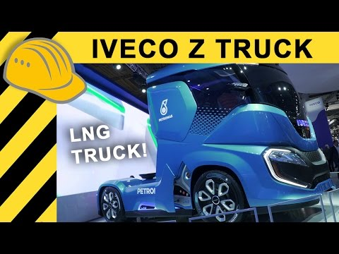 Iveco Z Truck Concept Zero Emission Biogas LNG - IAA 2016  4K