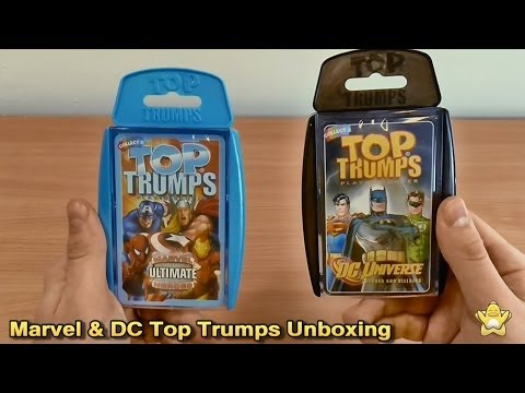 top-trumps-marvel-ultimate-heroes-and-dc-universe-unboxing