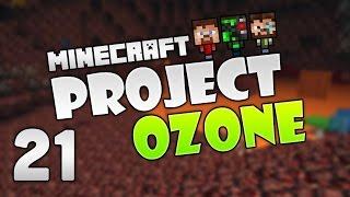 Minecraft - Project Ozone 2 #21: Laser Press