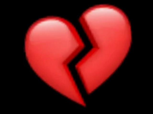 ايموجي قلب مكسور