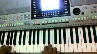 ellam yesuve - tamil christian church devotional song by Yamaha keyboard
