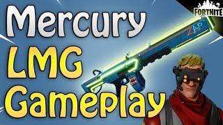 FORTNITE - New Neon Mercury LMG! (Bullet Storm Jonesy Gameplay And Event Store Items)