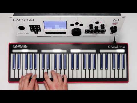 K-Board Pro 4 and Modal 002R MPE - Demo 1