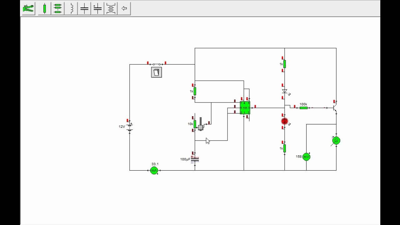 Circuito Oscilador : Simulação circuito oscilador gerador chegando a rpm youtube
