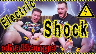 Electric Shock Challenge ft. Mitsos Ace #Internet4u
