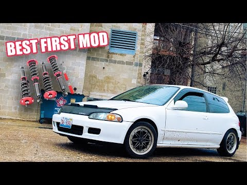 TruHart Coilover Install and Overview (1993 Civic Hatchback)