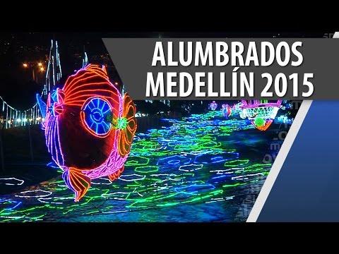 Alumbrados Navideños de Medellín 2015