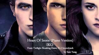Download Heart Of Stone (Piano Version) - Iko - by Sam Yung (From the Twilight Soundtrack) Mp3 and Videos