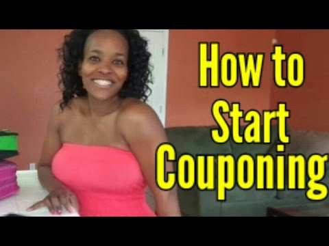 Couponing How To Start