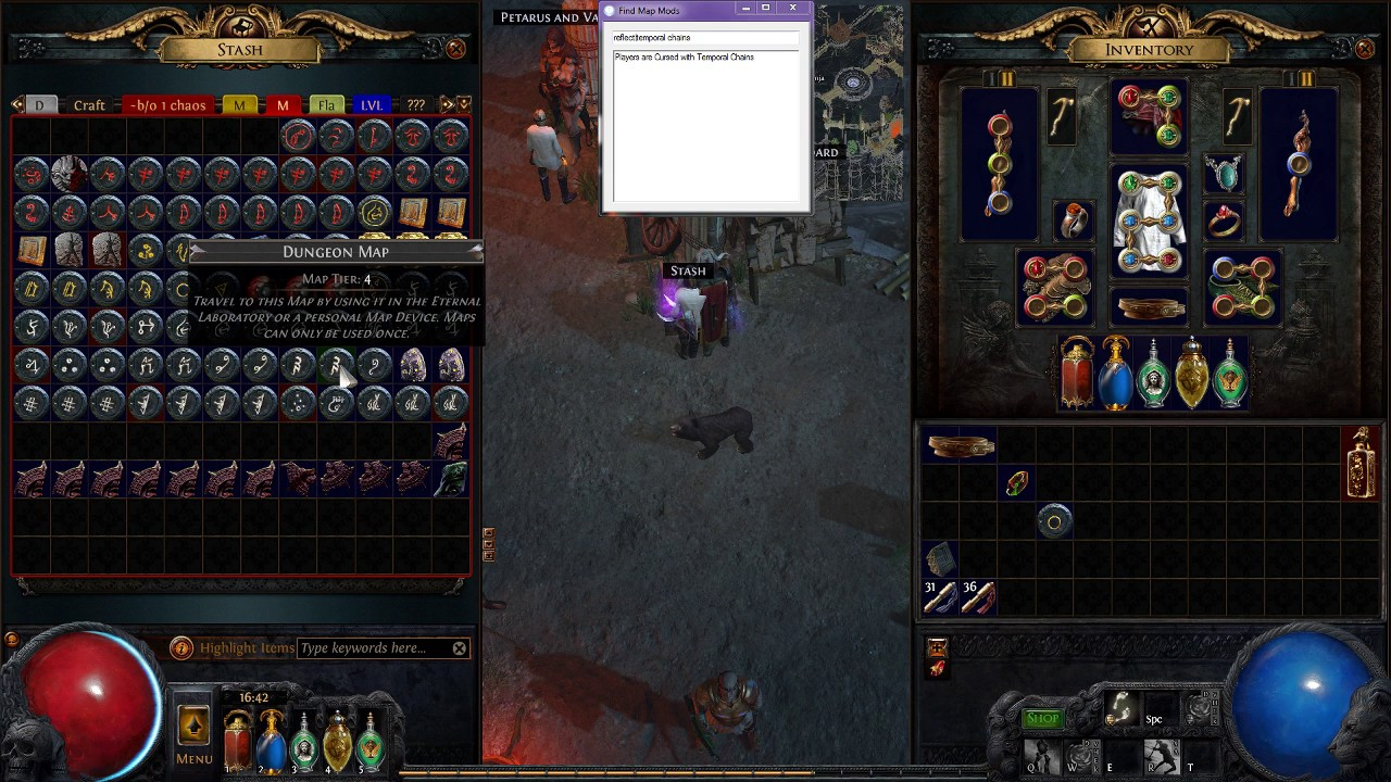 Path of exile mods