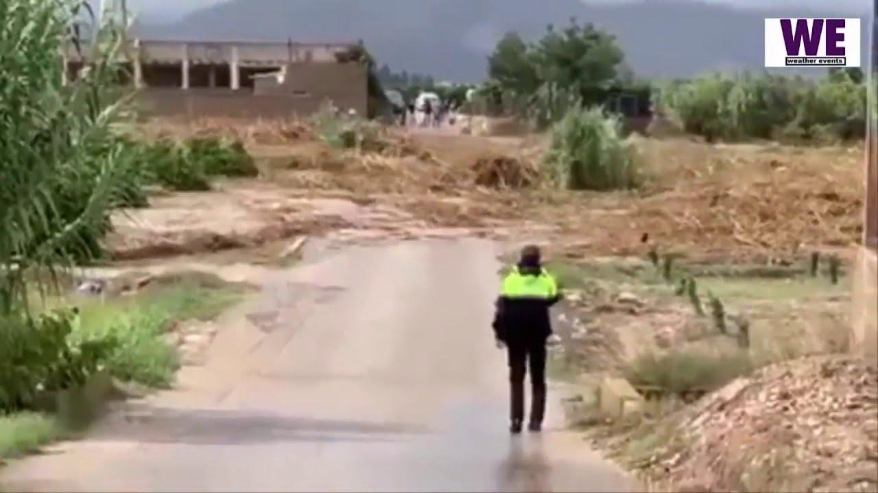 Апокалипсис наводнение в Испании