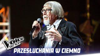 """Eugeniusz Tiemnikow - """"Nim wstanie dzień"""" - Przesłuchania w ciemno - The Voice Senior 1"""