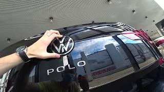 Volkswagen Polo 2020 - комплектация Exclusive. Работа камеры заднего вида. Спрос на автомобили.