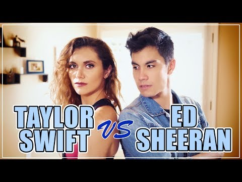 Taylor Swift VS Ed Sheeran MASHUP!! 20   ft. Alyson Stoner & Sam Tsui