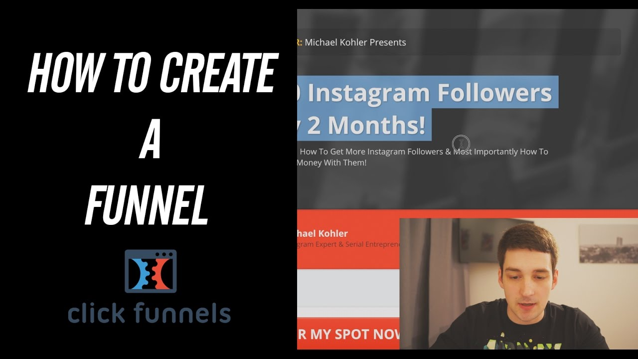 How To Create A Sales Funnel - Clickfunnels Tutorial