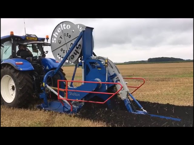 Agricultural Chain Trencher - Shelton CT 150