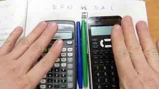 Calculator wars: input systems
