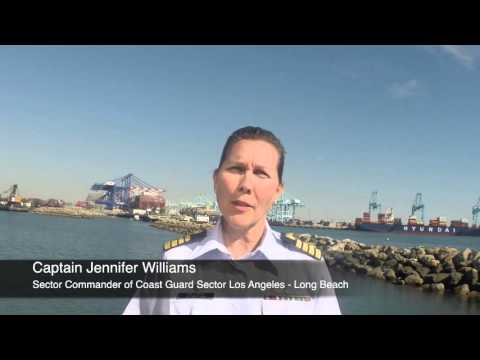 Coast Guard Sector Los Angeles-Long Beach Video