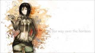 Repeat youtube video 【Yami】Attack On Titan-Jiyuu No Tsubasa 【FULL English cover】