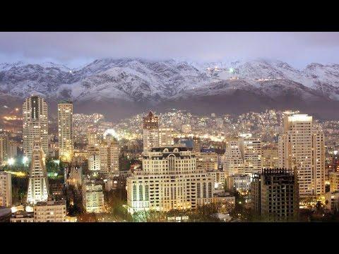 Riding In Tehran,Pasdaran street