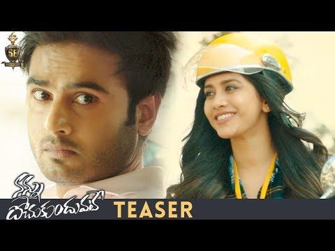 Nannu Dochukunduvate Movie Teaser   Sudheer Babu   Nabha Natesh   #NannuDochukunduvateStealer