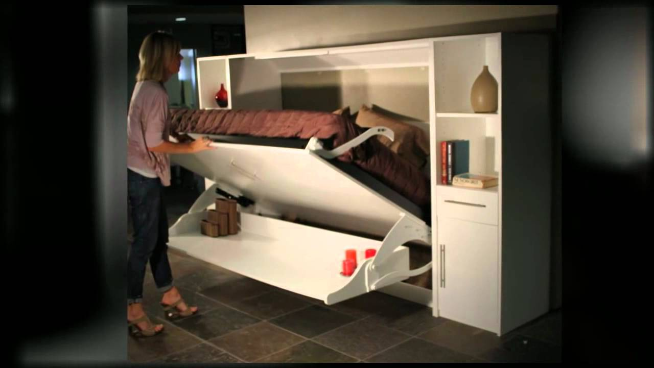 Murphy Deskbeds Full Horizontal Deskbeds Youtube
