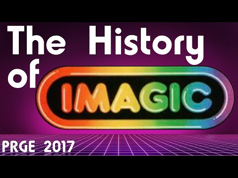 PRGE 2017 - The History of Imagic - Portland Retro Gaming Expo 1080p